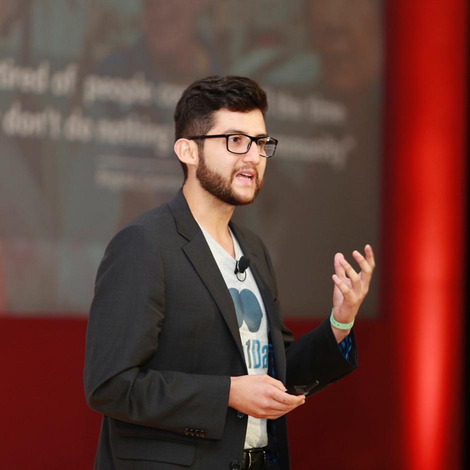 Diego Cuadros Rojas, cofundador de 100In1Day